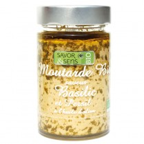 Moutarde saveur basilic et...