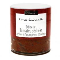 Délice de tomate, jambon de...